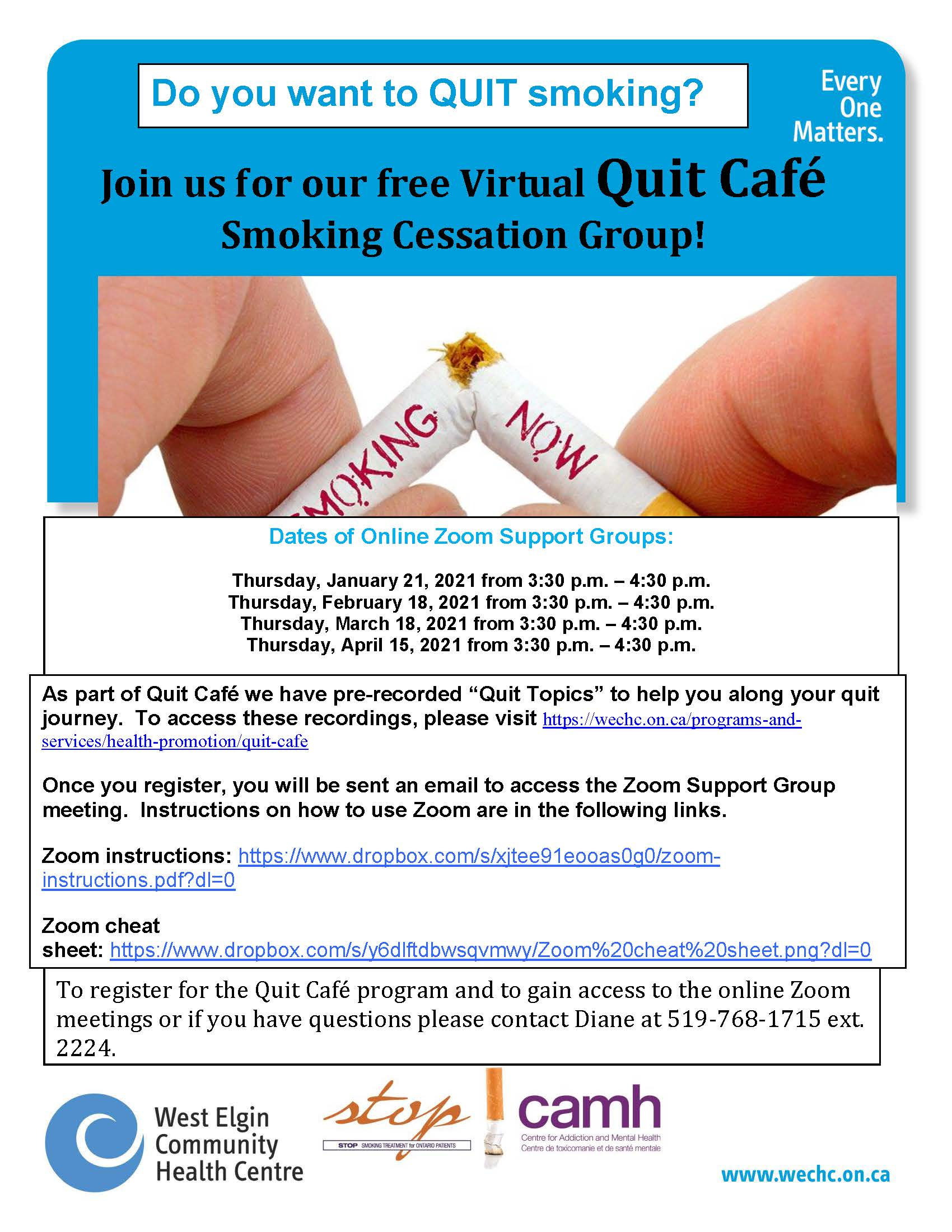 Quit Cafe Poster